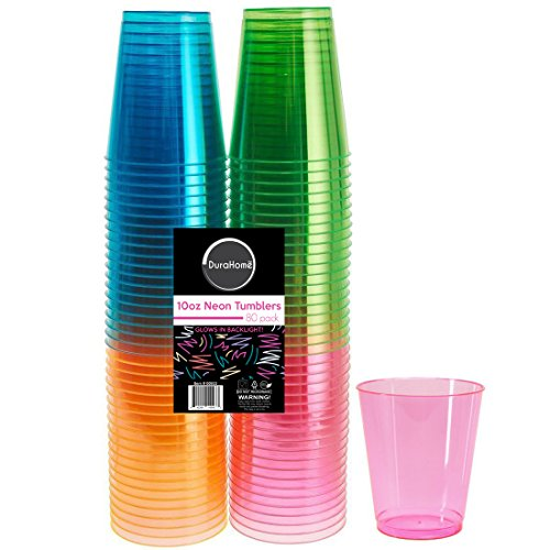 DuraHome Beverage Tumblers Assorted Blacklight product image