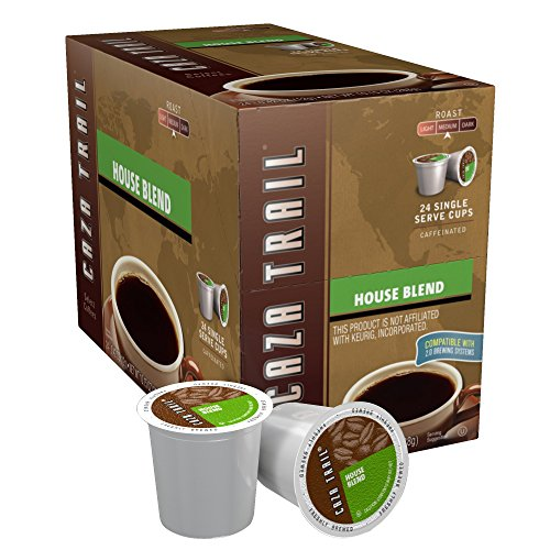 Caza Disappear Coffee, House Blend, 24 Single Serve Cups