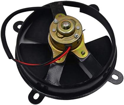 Shiwaki 6in D152mm 5-Cuchilla 12V Radiador Ventilador De ...