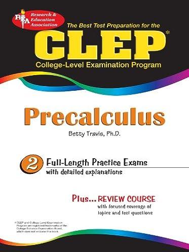 amazon com clep precalculus 2 clep test preparation ebook betty rh amazon com CLEP Precalculus PDF CLEP Precalculus PDF