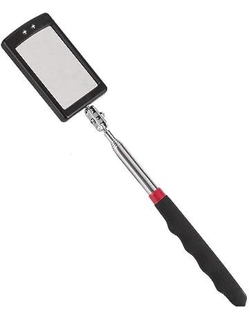 Vetrineinrete/® Specchietto estendibile da ispezione specchio tondo telescopico estensibile 50 mm snodabile allungabile per auto B27