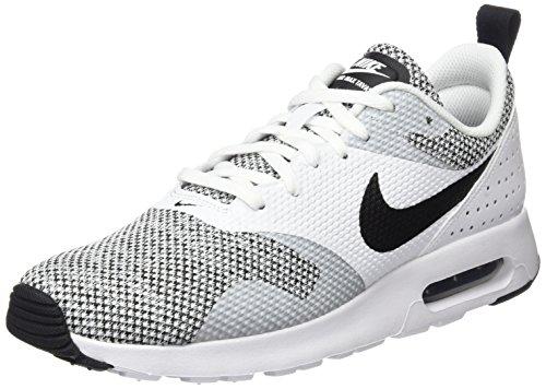 Nike Herren Air Max Tavas Prm Turnschuhe Elfenbein (White/black/pure Platinum)