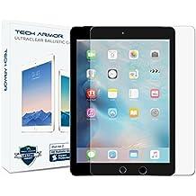 iPad Air Glass Screen Protector, Tech Armor Premium Ballistic Glass Apple iPad Air / Air 2 / NEW iPad 9.7 (2017) Screen Protectors [1]
