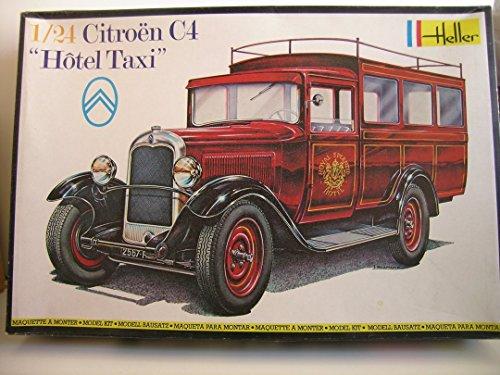heller-models-1-24-scale-french-citroen-c4-hotel-taxi-plastic-model-kit