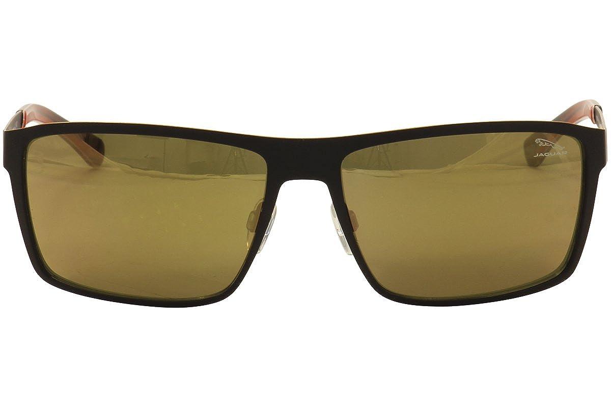 Jaguar Mens 37805 37//805 1018 Black//Orange Fashion Sunglasses 61mm