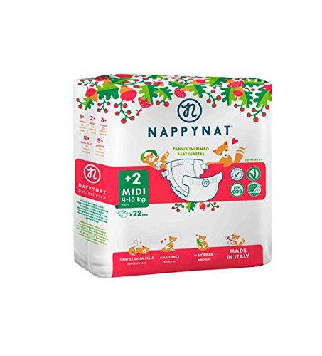 46 opinioni per Nappynat MIDI Pannolini, 22 Pezzi