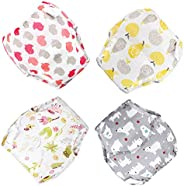 MooMoo Baby New Updgraded Cotton Training Pants Reusable Potty Training Underwear for Toddlers