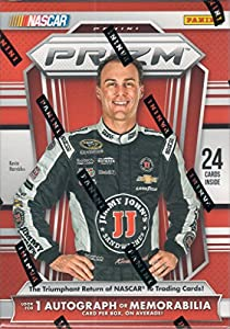 2016 NASCAR Panini Prizm Racing Series Unopened Blaster Box of Packs with One GUARANTEED Autographed or Memorabilia Card from Panini