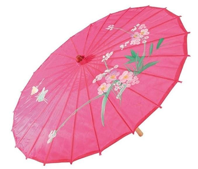 Sombrilla colores surtidos de geisha