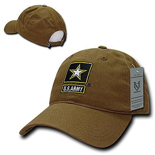 ARMY Embroidered Profile Cotton Baseball product image
