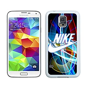 Fashion Designed Cover Case For Samsung Galaxy S5 I9600 G900a G900v G900p G900t G900w With Nike 15 White Phone Case
