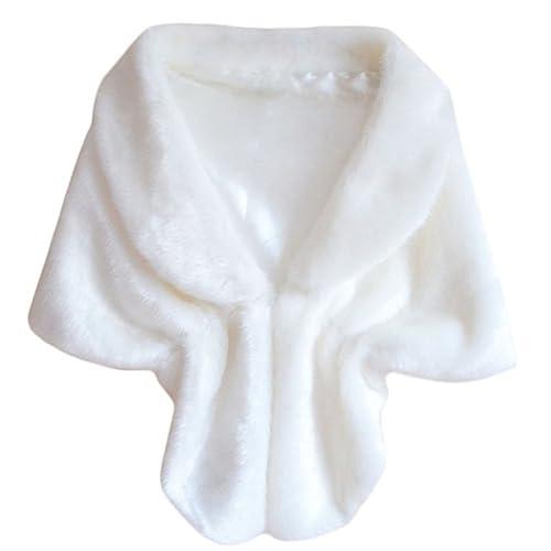 Monicanine - Abrigo - para mujer Blanco blanco Talla única