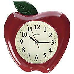 Westclox 3D Apple Wall Clock, 10