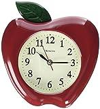 Westclox RA37340 3-Dimensional Apple 10' Wall Clock, Multicolor