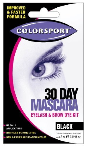 Colorsport 30 Day Mascara Black by COLORSPORT (English Manual)