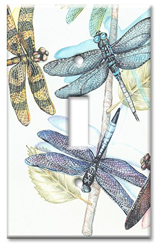 Dragonfly Switchplate Cover - Single