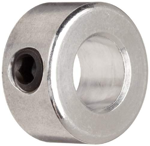 Ruland SC-4-A Set Screw Shaft Collar, Aluminum, .250