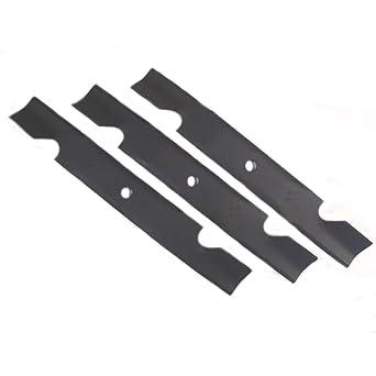 Amazon.com: (6) Nuevo repuesto de cuchilla de cortacésped ...