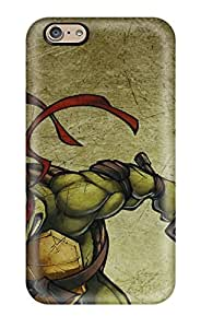 Pauline F. Martinez's Shop 3993443K53811950 Iphone 6 Case Cover - Slim Fit Tpu Protector Shock Absorbent Case (teenage Mutant Ninja Turtles 10)