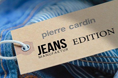 Pierre Cardin DeauvilleManufaktur Edition N.º 3196–Vaqueros elásticos para hombre, ajuste normal dark indigo strong used (3196 7170.37)