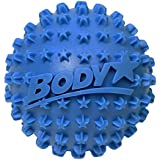 Body Back Company's Body Star 2.5 Inch Acupressure Self Massage Ball and Muscle Pain Reliever - Blue