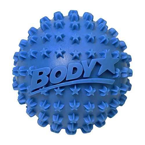 Body Star 2.5 Inch Spiky Foot Massager & Roller Ball – Deep Tissue Massage ideal for Plantar Fasciitis Treatment, Back Pain Relief, Trigger Point & Myofascial Release by Body Back Company