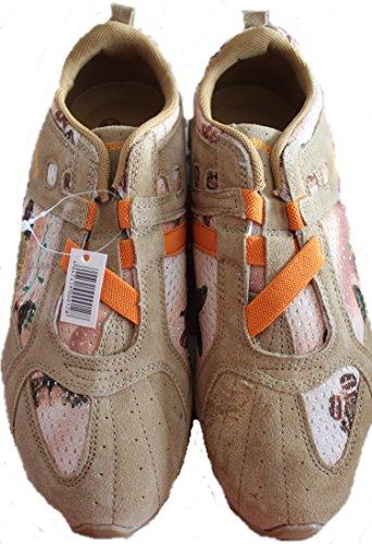 Magnus - Zapatillas de Piel para mujer multicolor Amarillento-Anaranjado