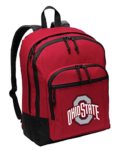 Broad Bay Ohio State University Backpack Medium Classic Style with Laptop Sleeve