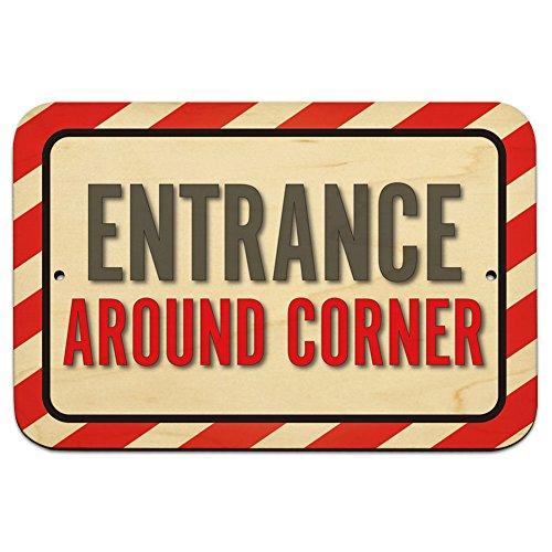 Entrance Around Corner 9
