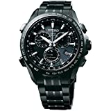 Seiko Solar Titanium Chronograph GPS Controlled Blue Dial Male Watch...