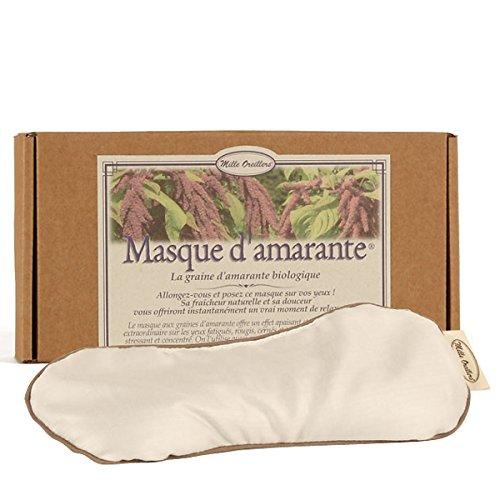 MILLE OREILLERS Masque dAmarante Bio 10 x 22 cm