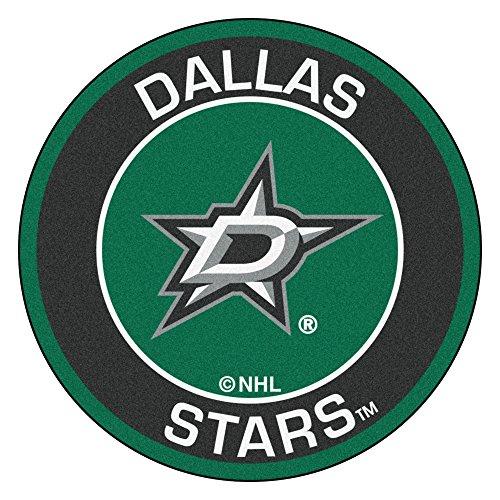 FANMATS 18870 NHL Dallas Stars Roundel Mat ()