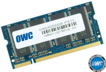 (OWC / Other World Computing 1GB 333MHz 200-Pin SO-DIMM DDR (PC-2700) Memory Upgrade Module for PowerBook G4, iBook G4, iMac G4 and PC Desktop)