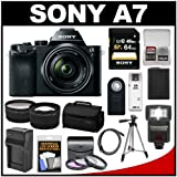 Sony Alpha A7 Digital Camera & 28-70mm FE OSS Lens with 64GB Card +...
