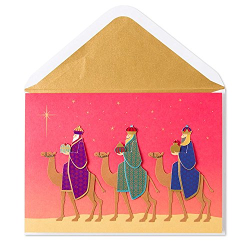 Papyrus Three Wise Men Christmas - Three Cards Christmas Wise Men
