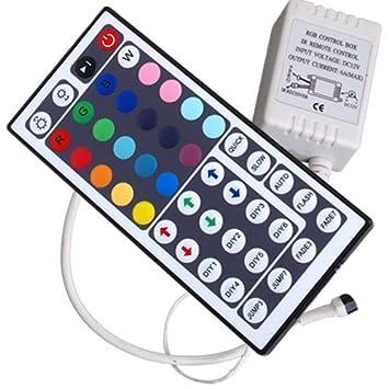 IR Remote Control Controlador 44 Tecla p// RGB LED Tira