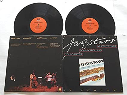 Milestone Jazzstars In Concert: McCoy Tyner; Sonny Rollins ...