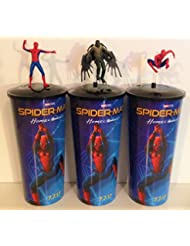 Spider-Man: Homecoming Movie Theater Exclusive Cup Topper Set With 44 oz Cups