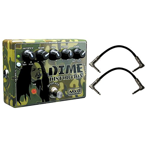 Dunlop MXR DD11 Dime Distortion Pedal w/ 2 Cables