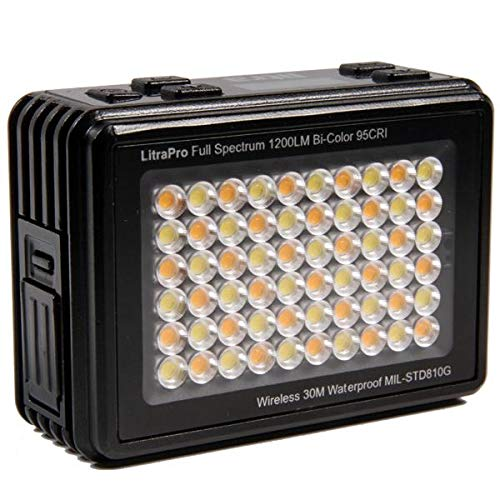 LitraPro Premium On-Camera Photo and Video Bi Color Waterproof LED Light by Litra (Image #1)