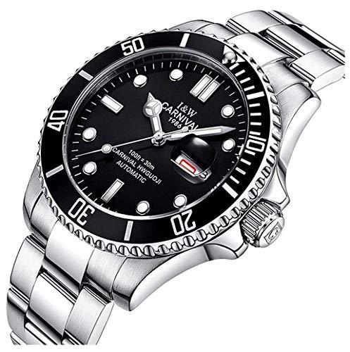 Mastop Swiss Luxury Sapphire Waterproof Watches Men Automatic Mechanical Wrist Watch Full Stainless (Automatic Swiss Mens Wrist Watch)
