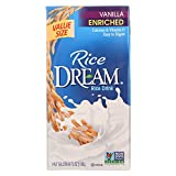 Rice Dream Original Rice Drink - Enriched Vanilla - Case of 8 - 64 Fl oz.