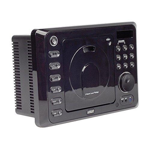 Magnadyne RV4800 Linear Series 24 Watt In-Wall AM/FM/CD/DVD Receiver with Remote Control Bluetooth