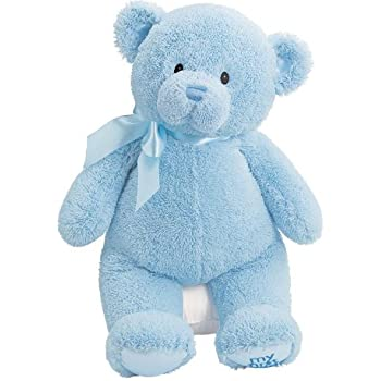 Amazon gund baby my first teddy large blue toys games gund baby my first teddy large blue altavistaventures Images