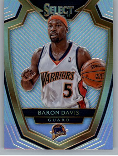 Baron Davis Warriors (Basketball NBA 2014-15 Panini Select Premier Level - Silver Prizms #167 Baron Davis NM-MT Warriors)
