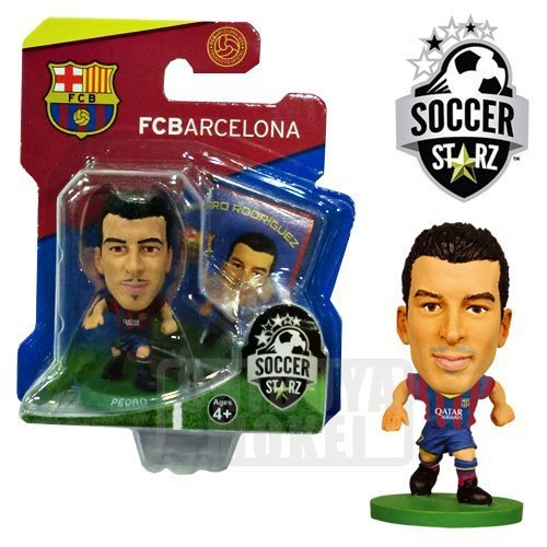 [ Football ] Stars Pedro (FC Barcelona / home / 13-14 ) Asian version package SOCCERSTARZ (*) by Soccer Stars