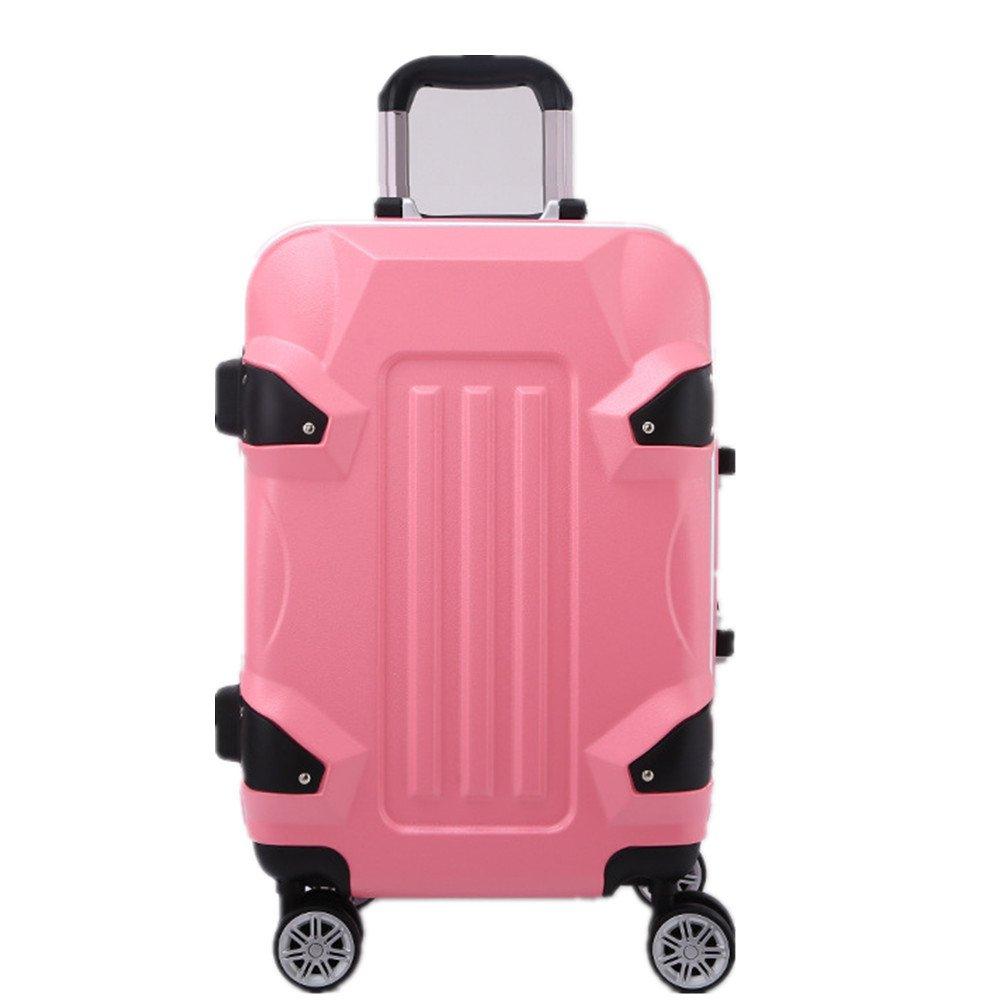 スーツケース ABSアルミフレームユニバーサルホイールプルロッドボックスアルミフレームプルロッドボックスシャーシスーツケーストラベルギア B07VDBM95J