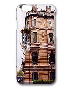 iphone 6 plus Case,Customized 2015 3D PC iphone 6 plus Protector With Antwerp Belgium balcony-ship Online