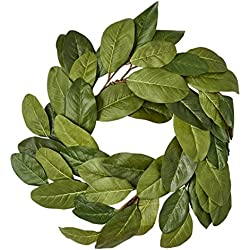 Worth Imports 20'' Magnolia Wreath