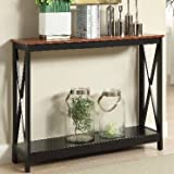 Slim Console Table, Indoor, Cherry